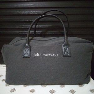 Gray John Varvatos Medium Duffle Bag